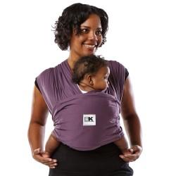 Sistem Purtare Baby Ktan Baby Carrier Original Cotton - Eggplant - Marimea M