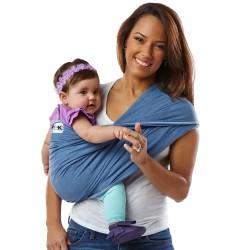 Sistem Purtare Baby K'tan Baby Carrier Original Cotton - Denim - Marimea S