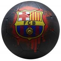 Minge FC Barcelona Streetball Logo Graffii neagra marimea 5