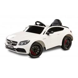 Masinuta electrica cu telecomanda Toyz Mercedes AMG C63 S White
