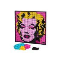 LEGO Art - Andy Warhol's Marilyn Monroe 31197