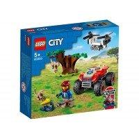 LEGO City - ATV de salvare a animalelor 60300