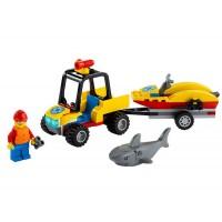 LEGO City - ATV si barca de salvamari 60286
