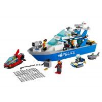 LEGO City - Barca de patrula a politiei 60277