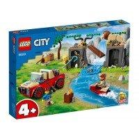 LEGO City - Camion de salvare a animalelor 60301