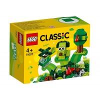 LEGO Classic - Caramizi creative verzi 11007