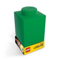 Lampa Caramida LEGO verde