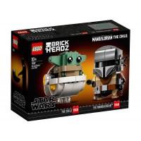 LEGO Brick Headz - Mandalorian si Copilul 75317