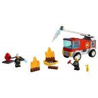 LEGO City - Masina de pompieri cu scara 60280