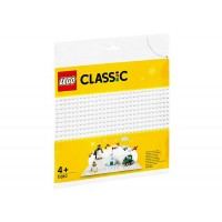 LEGO Classic - Placa de baza alba 11010