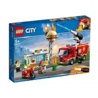 LEGO City - Stingerea incendiului de la Burger Bar 60214