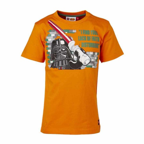 Tricou LEGO Star Wars Darth Vader Portocaliu 104