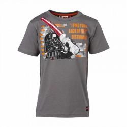 Tricou LEGO Star Wars Darth Vader Gri 128