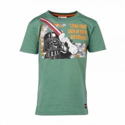 Tricou LEGO Star Wars Darth Vader Verde 134