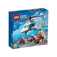 LEGO City - Urmarire cu elicopterul politiei 60243