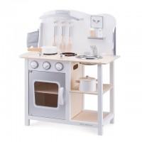 Bucatarie Bon Appetit Alb cu Argintiu - New Classic Toys