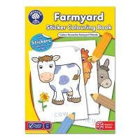 Carte de colorat cu activitati in limba engleza si abtibilduri Ferma