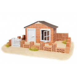 Set constructie Casa de vara - 130 piese
