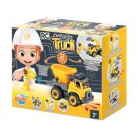 Set constructie - Camion autobasculanta si excavator cu telecomanda