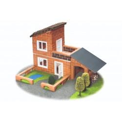 Set constructie Vila cu garaj - 330 piese