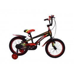 Bicicleta MyKids BMX 16 Rosu Cadru Baiat