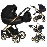 Carucior 3 in 1 Baby Merc Faster 3 Limited Edition - L/143 Cadru Gold