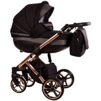 Carucior 3 in 1 Baby Merc Faster 3 Limited Edition - L/189 Cadru Grey