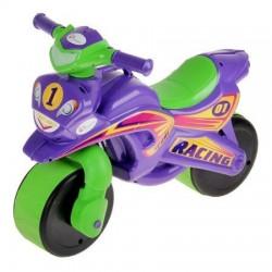 Motocicleta de impins MyKids Racing Mov Verde