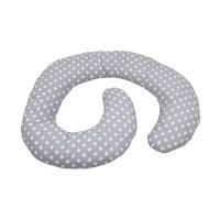 Perna de alaptare multifunctionala MyKids Stelute Grey-White