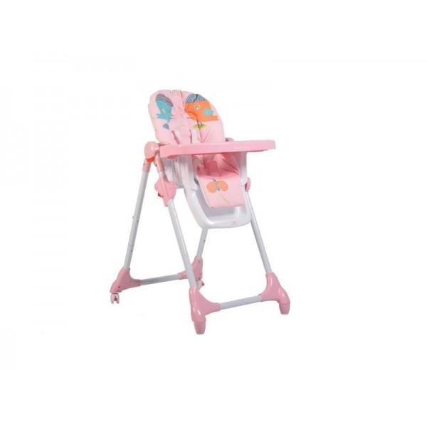 Scaun de masa copii Moni Kimchi Pink