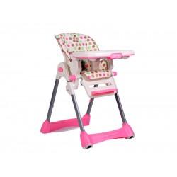 Scaun de masa pentru copii Cangaroo Party Mix Roz