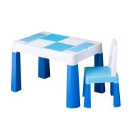 Set masuta cu scaun Tega Lego Multifun Albastru