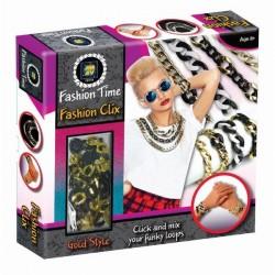 Set Fashion Clix Metalic Auriu