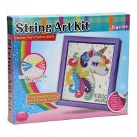 Set creativ cu ata String Art Unicorn