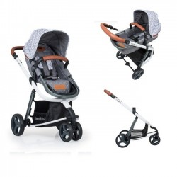 Carucior copii Kiddo Juke 2 in 1 Triangle