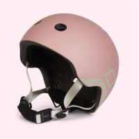 Casca de protectie pentru copii cu sistem de reglare Scoot and Ride Rose XXS - S