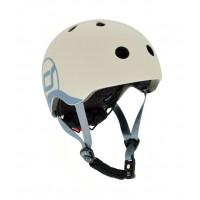 Casca de protectie pentru copii cu sistem de reglare Scoot and Ride Ash XXS - S