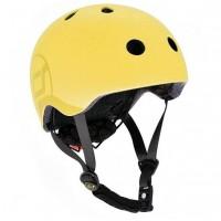Casca de protectie pentru copii cu sistem de reglare Scoot and Ride Lemon S-M
