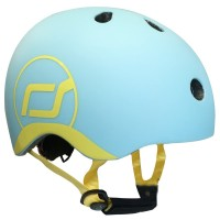 Casca de protectie pentru copii cu sistem de reglare Scoot and Ride Blueberry XXS - S