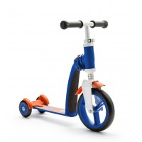 Trotineta copii transformabila 2 in 1 Scoot and Ride HighwayBaby+ Albastru/ Portocaliu