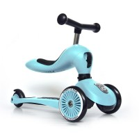 Trotineta copii transformabila 2 in 1 Scoot and Ride HighwayKick 1 Blueberry