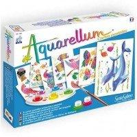 Set pictura Aquarellum - Carti Postale Animale