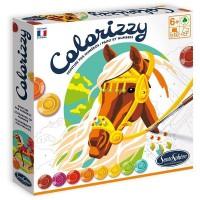 Pictura pe numere Colorizzy - Cai