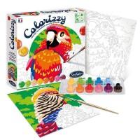 Pictura pe numere Colorizzy - Papagali