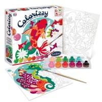 Pictura pe numere Colorizzy - Pesti