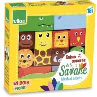 Cuburi din lemn activitati Savana