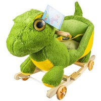 Balansoar cu rotile pentru bebelusi Dinozaur