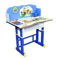 Birou copii cu scaunel Back to School Albastru