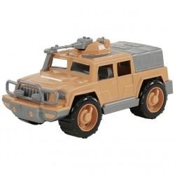 Jeep militar Defender 31 cm cu mitraliera - Polesie