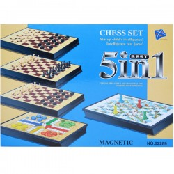 Joc magnetic 5 in 1 Chess Set